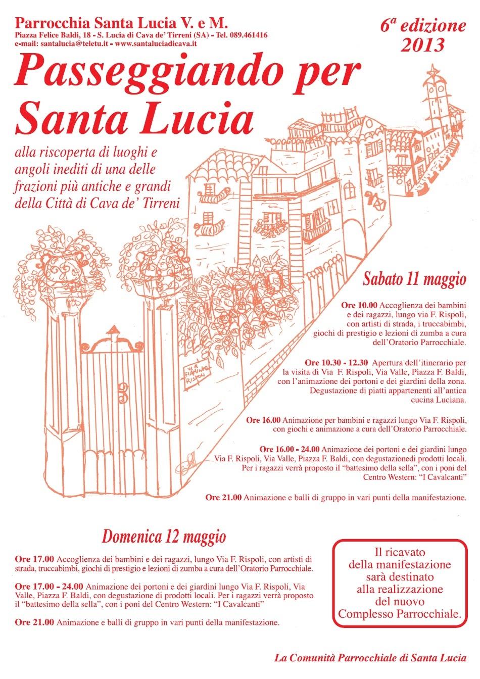 Passeggiando per Santa Lucia 2013